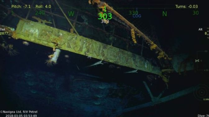 Kapal Induk Amerika Serikat Era PD II Ditemukan di Australia