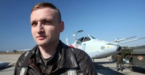 Vladyslav Voloshyn, pilot Ukraina, yang dituduh Rusia menembak jatuh pesawat MH17, bunuh diri. (BBC)